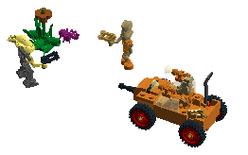 Inferno Squad Laser Tank Attack