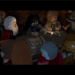 Meeting of the Dwarven Company