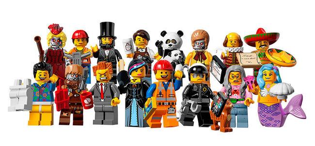Lego minifigures 12