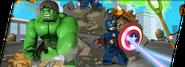 Marvl Battle Scene