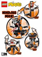 Nindjas Max instructions