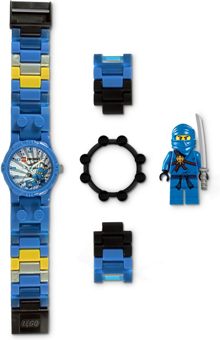ninjago jay with minifigure watch 5000142 legopedia. Black Bedroom Furniture Sets. Home Design Ideas
