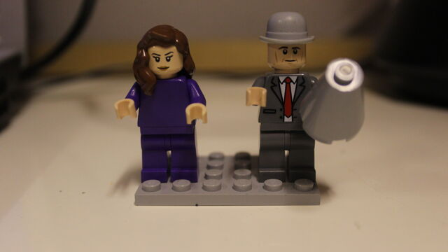 File:Custom Emma Peel and John Steed from The Avengers.JPG