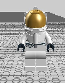 The inposible astronaut