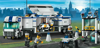 7743 le camion de police wiki lego fandom powered by wikia - Camion lego city police ...