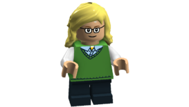 The Big Bang Theory minifigures (Bernadette Cheesecake Factory outfit)