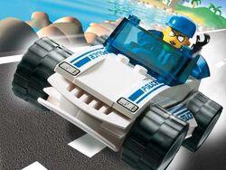 4666 Speedy Police Car
