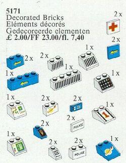 5171 Decorative Bricks