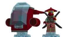 Lego Dimensions Ronin Pack
