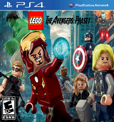 File:LEGO The Avengers-Phase 1 Cover (PS4).png