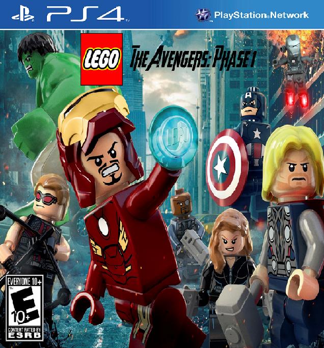Lego Avengers Ausmalbilder Vorstellung: Custom:LEGO The Avengers: Phase 1