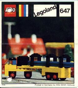 647 Lorry with Girders