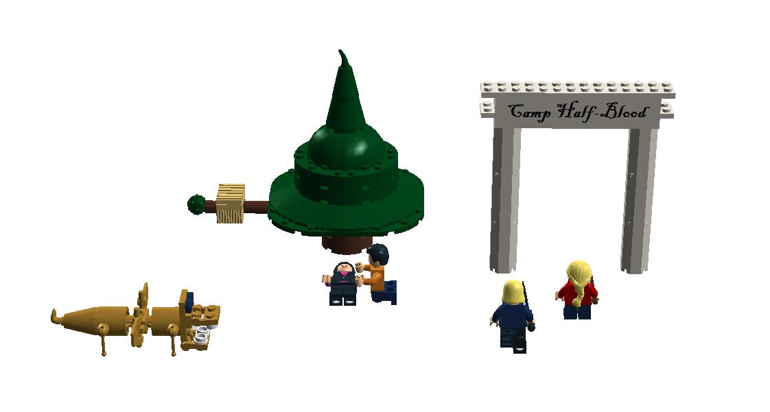 Custom:Camp Half-Blood   Brickipedia   Fandom powered by Wikia  Lego Percy Jackson Luke