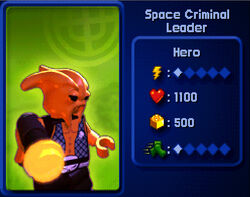 Space Criminal Leader