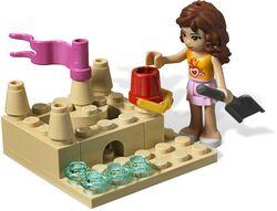 Lego friends 3937 olivias rennboot II