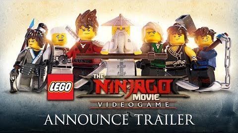The LEGO Ninjago Movie Video Game- Official Announce Trailer