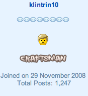 Klintrin10 as a crafts man