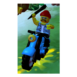 The Motorcycle Mechanic using the