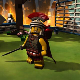 Roman Commander in-game