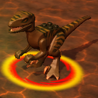 DerangedRaptor In-game