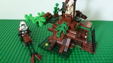 Lego 7956 ewok attack