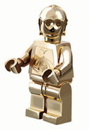 C-3PO chrome gold