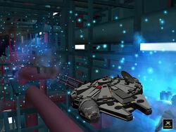 Millennium Falcon Death Star II