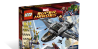 6869 Quinjet Aerial Battle