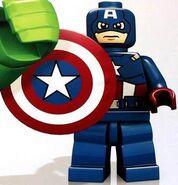 Captain america CGI