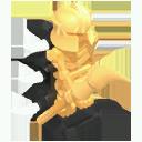 Skeleton Statue Model