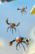 Brick Mesa flying robots