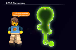 LEGO Club Map