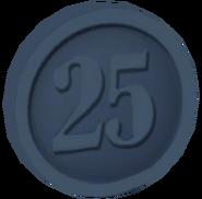 Pre-Alpha Silver Coin ''25''