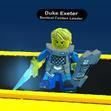 Duke Exeter in-game