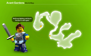 Avant Gardens Map