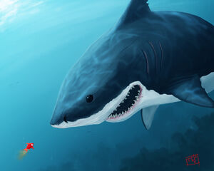 1280x1024 5663 The Bully 2d creatures shark fish picture image digital art