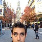 Jorge looking up