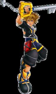 Sora (Battle) KHII
