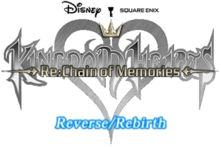 Kingdom Hearts ReChain of Memories Reverse Rebirth Logo KHRECOM