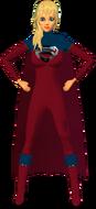 Supergirl RedBlu Suit 3