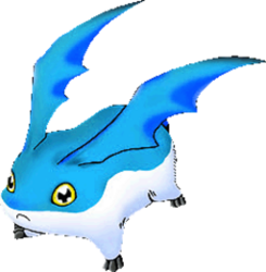 Patamon Bandai Blue