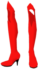 Supergirl Alpha High Heels3