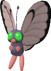 012 Butterfree PS Shiny