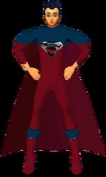 Superman RedBlu Suit 1