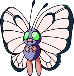 012 Butterfree OS1 Shiny