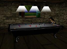 7th Heaven Billiards Table