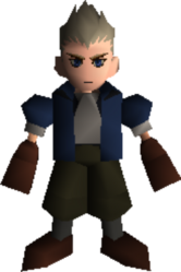 Cid Highwind FFVII Young