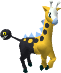 203 Girafarig PS Shiny