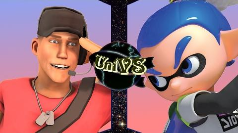 UniVS - Scout VS Inkling Boy