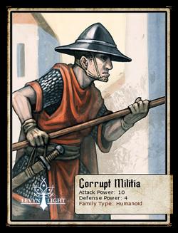 Corrupt Militia